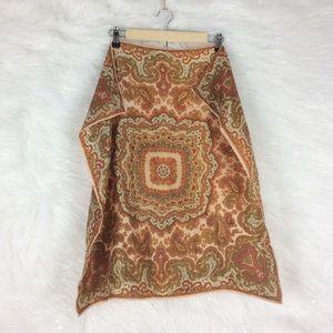 Vintage | paisley printed scarf